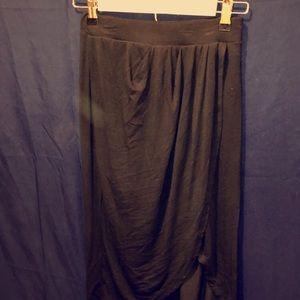 Black mullet skirt